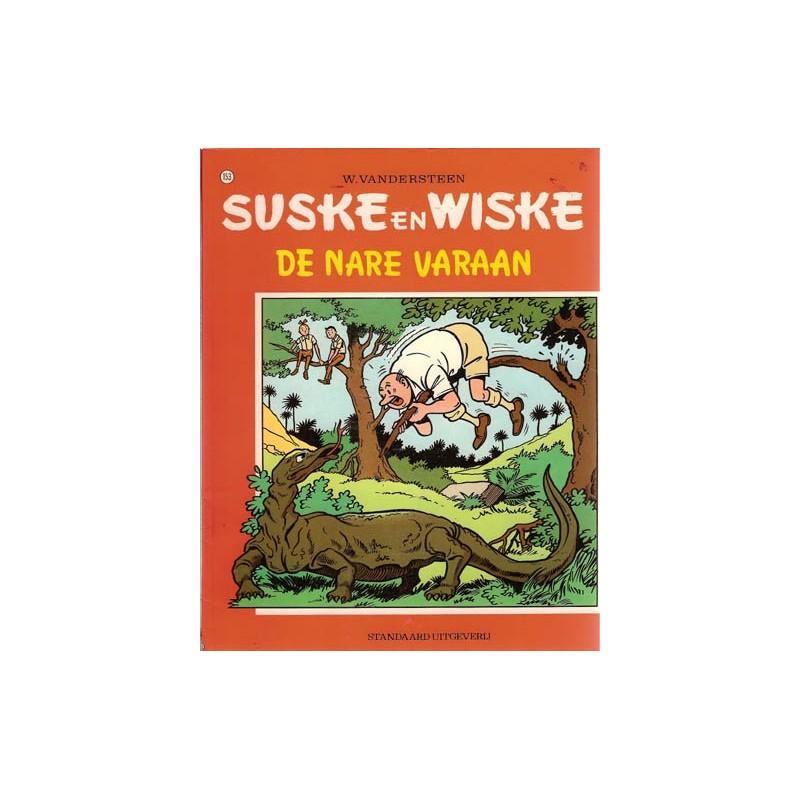 Suske & Wiske 153 De nare varaan 1e druk 1975