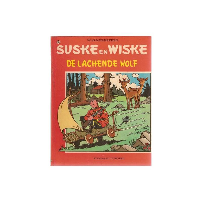 Suske & Wiske 148% De lachende wolf 1e druk 1974