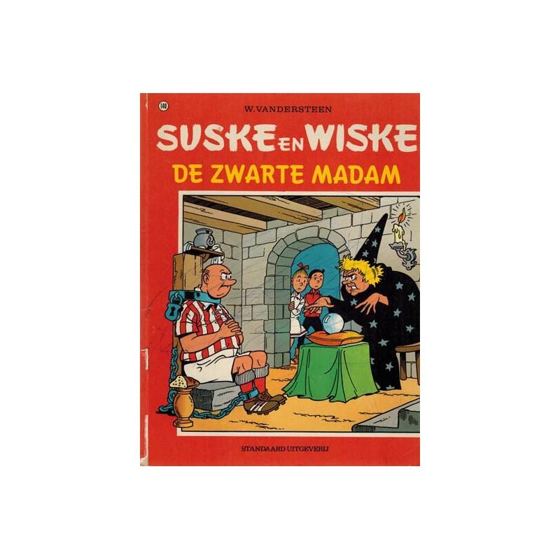 Suske & Wiske 140 De zwarte madam 1e druk 1973