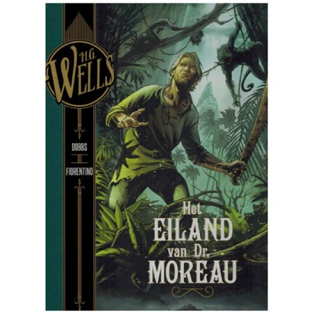 H.G. Wells 06 HC Het eiland van Dr. Moreau