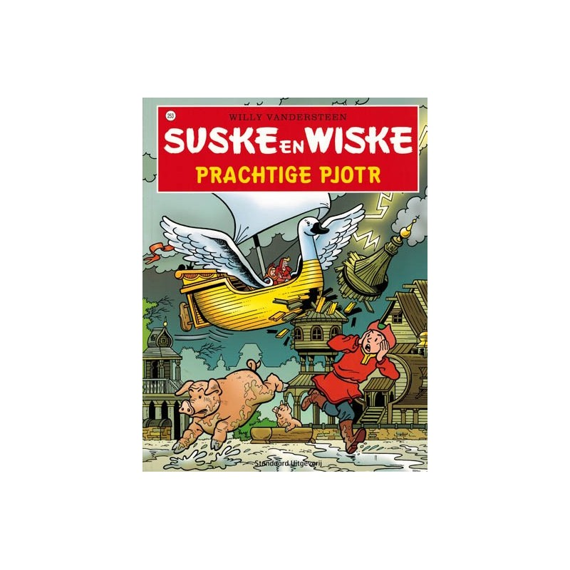 Suske & Wiske  253 Prachtige Pjotr (naar Willy Vandersteen)