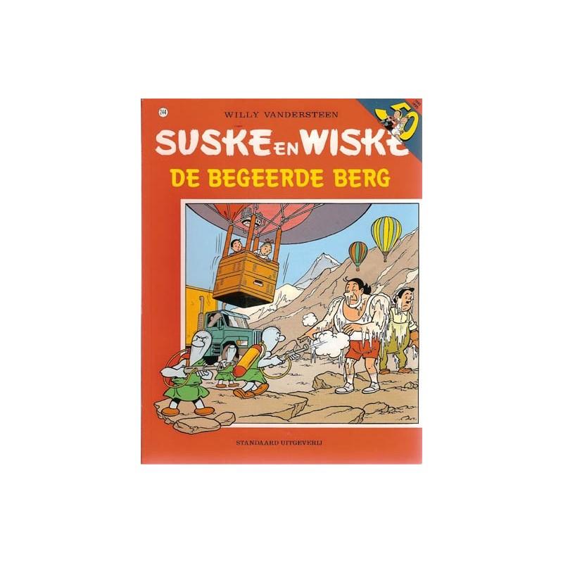 Suske & Wiske 244 De begeerde berg 1e druk 1995