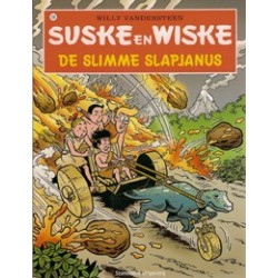 Suske & Wiske 238 De slimme slapjanus herdruk (naar Willy Vandersteen)