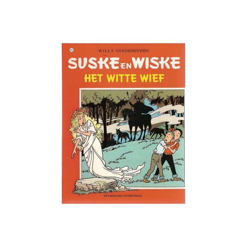 Suske & Wiske 227 Het witte wief 1e druk 1991