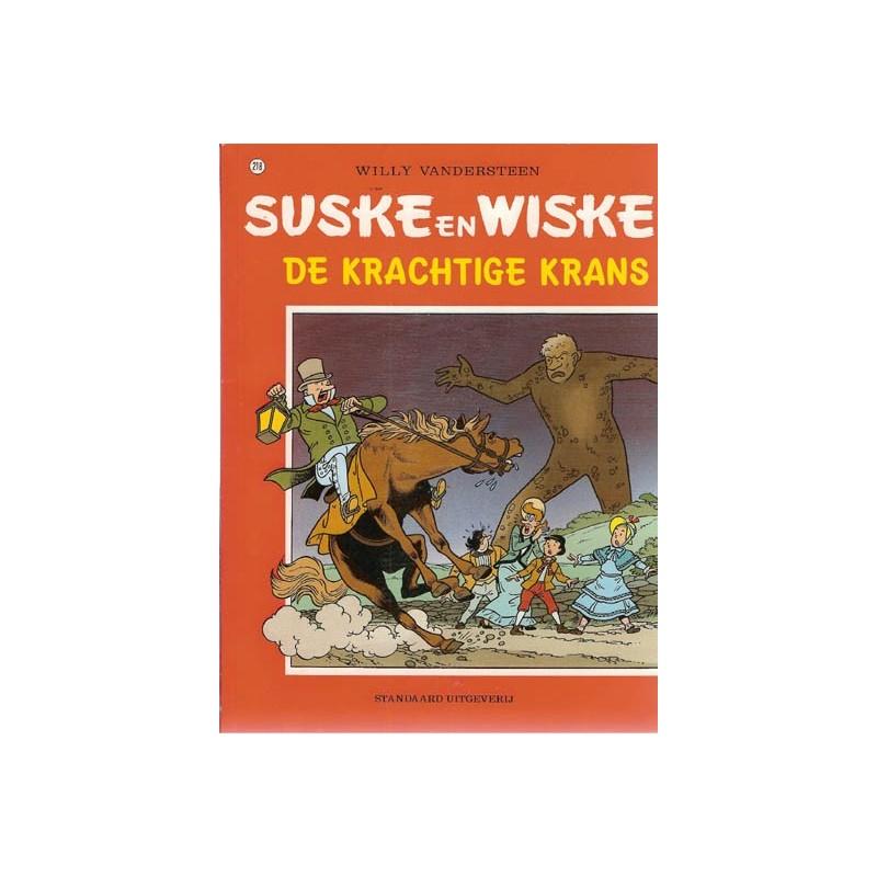 Suske & Wiske 218 De krachtige krans 1e druk 1989