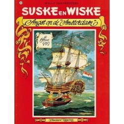 Suske & Wiske 202 Angst op de Amsterdam 1e druk 1985 BE