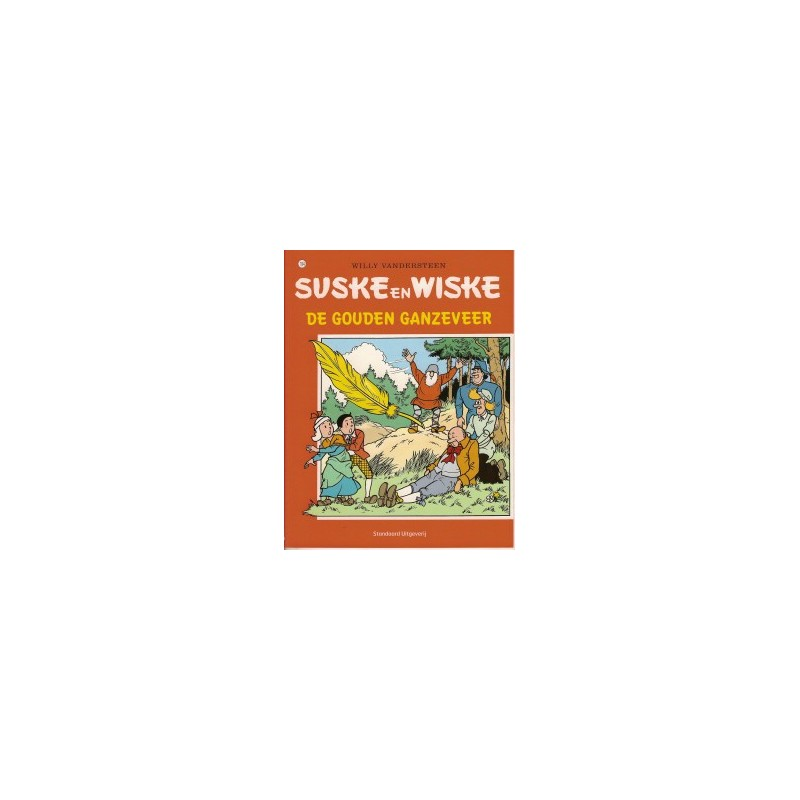 Suske & Wiske  194 De gouden ganzeveer