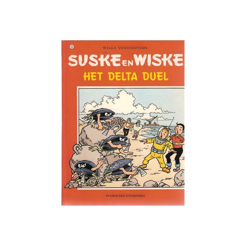 Suske & Wiske 197 Het delta duel 1e druk 1984