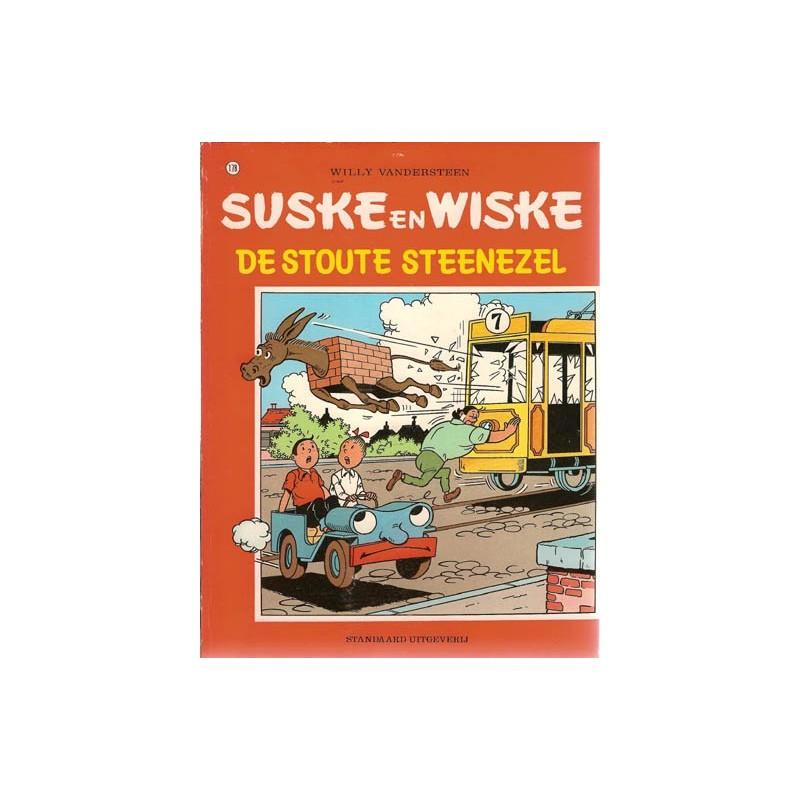 Suske & Wiske 178 De stoute steenezel 1e druk 1980
