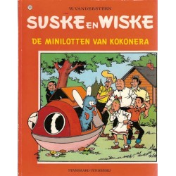 Suske & Wiske 159 De Minilotten van Kokonera 1e druk 1976
