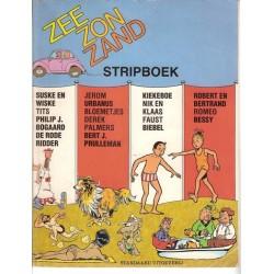 Suske & Wiske reclamealbum Zee zon zand stripboek 1e druk 1986 (Suske & Wiske tegen de ZZZ)
