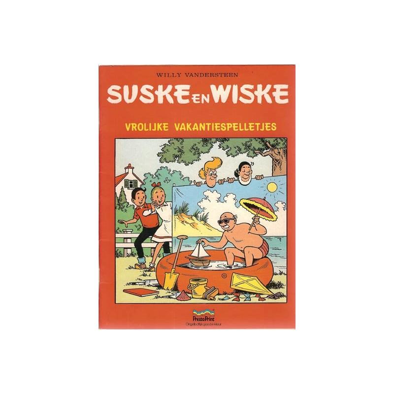 Suske & Wiske reclamealbum Vrolijke vakantiespelletjes 1e druk 1988 (Prestoprint)