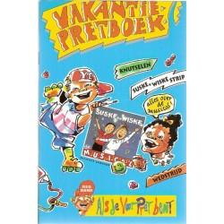 Suske & Wiske reclamealbum Vakantiepretboek 1e druk 1995 (Red Band)