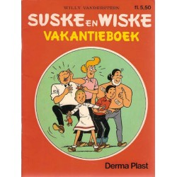 Suske & Wiske reclamealbum Vakantieboek 1e druk 1987 (Derma Plast)