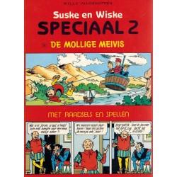 Suske & Wiske reclamealbum Special 02 De mollige meivis + Raadsels en spellen 1e druk 1987