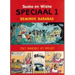 Suske & Wiske reclamealbum Special 01 Beminde Barabas + Raadsels en spellen 1e druk 1987