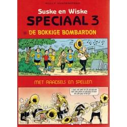 Suske & Wiske reclamealbum Speciaal 03 De bokkige bombardon + Raadsels en spellen 1e druk 1987
