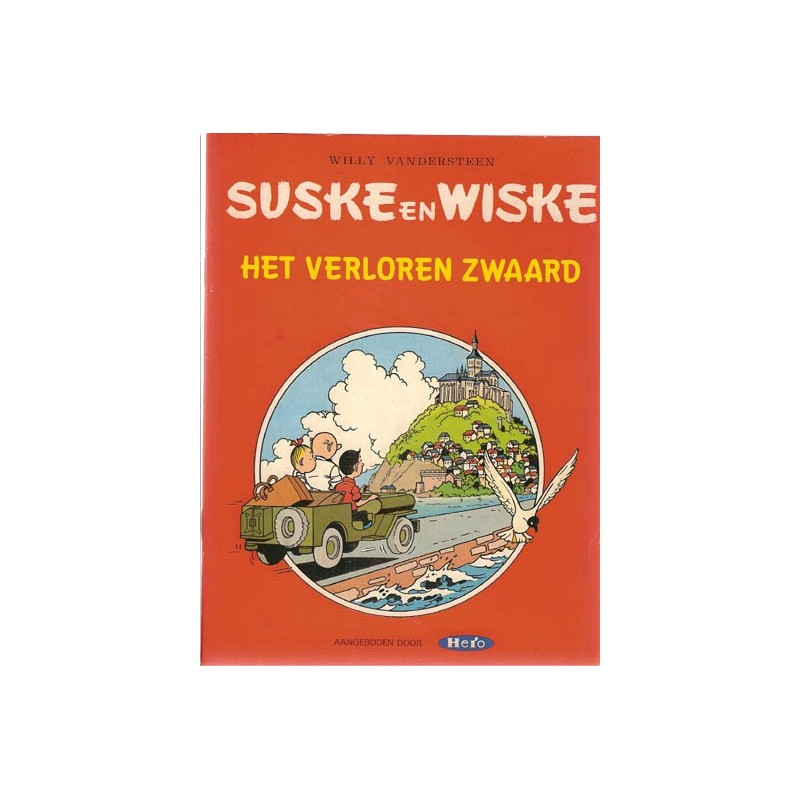 Suske & Wiske reclamealbum Verloren zwaard 1e druk 1982 (Hero)