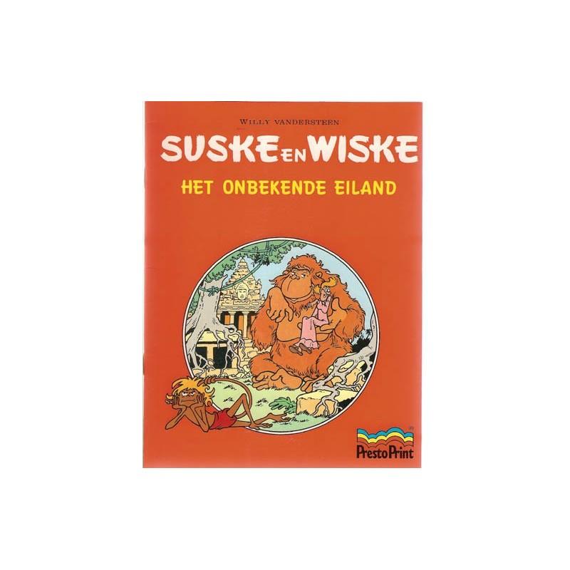 Suske & Wiske reclamealbum Onbekende eiland 1e druk 1999 (Prestoprint)