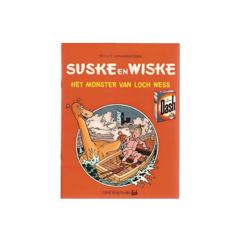 Suske & Wiske reclamealbum Monster van Loch Ness 1e druk 1978 (Dash)