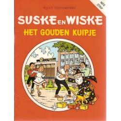 Suske & Wiske reclamealbum Gouden kuipje 1e druk 1989 (Eru info-strip)