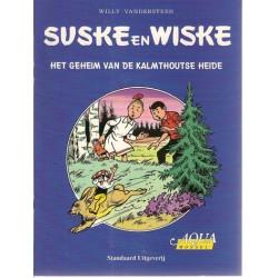 Suske & Wiske reclamealbum Geheim van de Kalmthoutse heide 1e druk 1999 (Aqua Mossel)