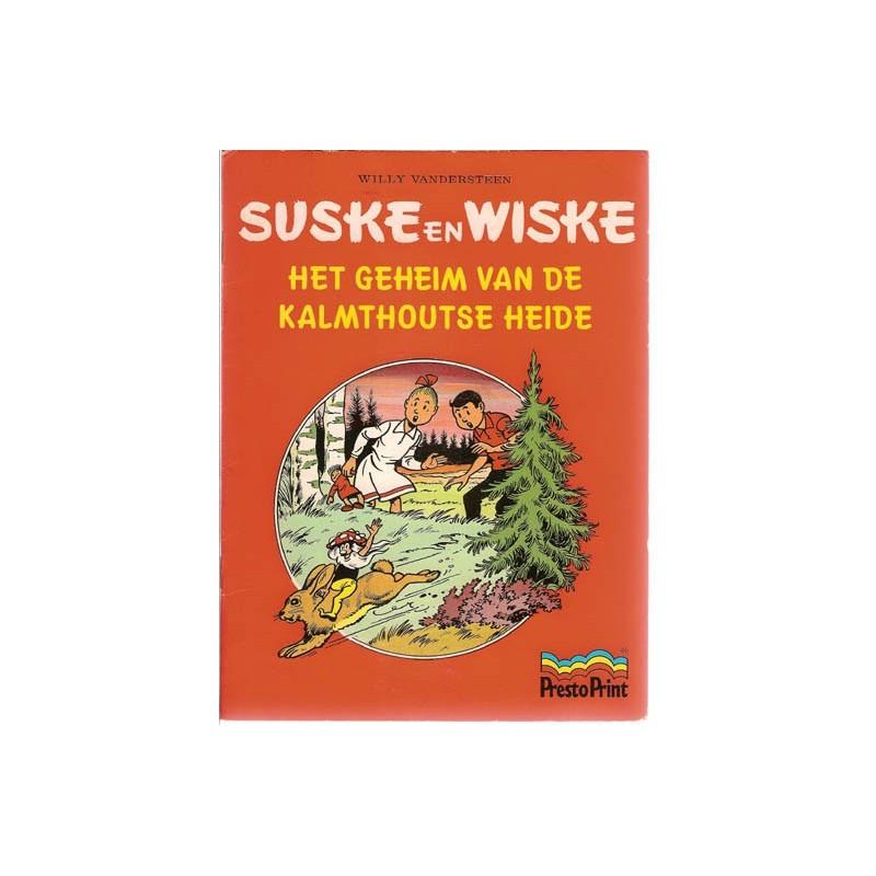 Suske & Wiske reclamealbum Geheim van de Kalmthoutse heide 1e druk 1981 (Prestoprint)