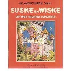 Suske & Wiske reclamealbum Eiland Amoras 1e druk 2003 (Het Volk)