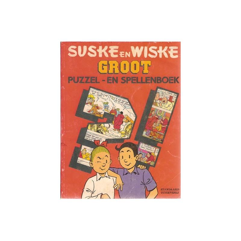 Suske & Wiske reclamealbum Groot puzzel- en spellenboek % 1990