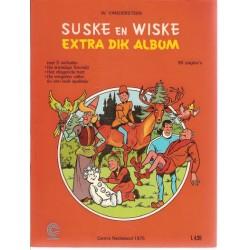 Suske & Wiske reclamealbum Extra dik album 1e druk 1975 (Centra)