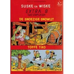 Suske & Wiske reclamealbum Extra 08 De snoezige snowijt + Toffe Tiko 1e druk 1989
