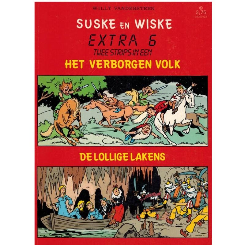 Suske & Wiske reclamealbum Extra 06 Het verborgen volk 1e druk 1987