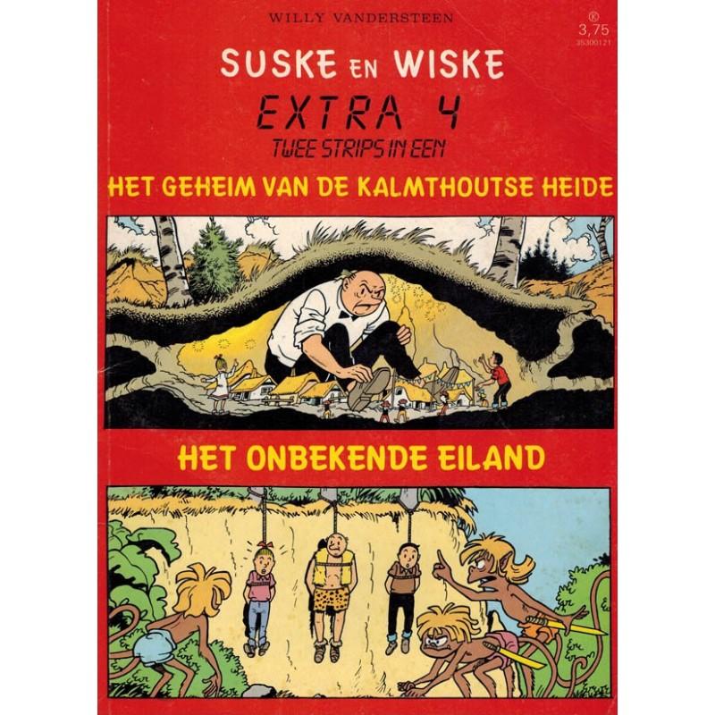 Suske & Wiske reclamealbum Extra 04 Het geheim van de Kalmthoutse heide 1e druk 1987