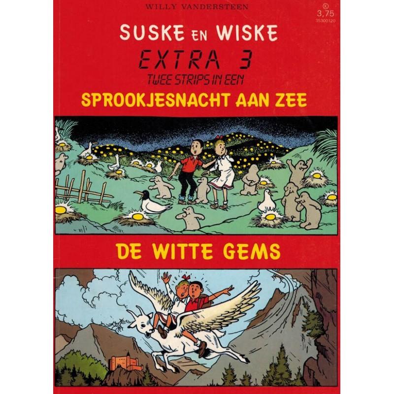 Suske & Wiske reclamealbum Extra 03 Sprookjesnacht aan zee 1e druk 1987