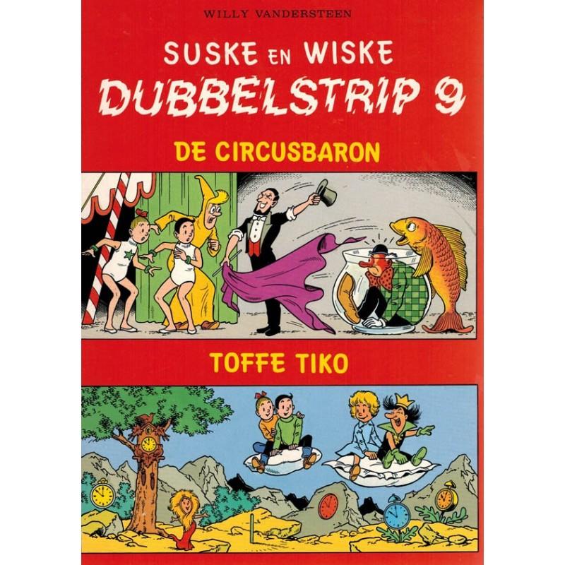 Suske & Wiske reclamealbum Dubbelstrip 09 De circusbaron + Toffe Tiko 1e druk 1987