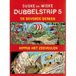 Suske & Wiske reclamealbum Dubbelstrip 05 (88) De bevende berken + Hippus het zeeveulen 88 pagina's 1e druk 1987