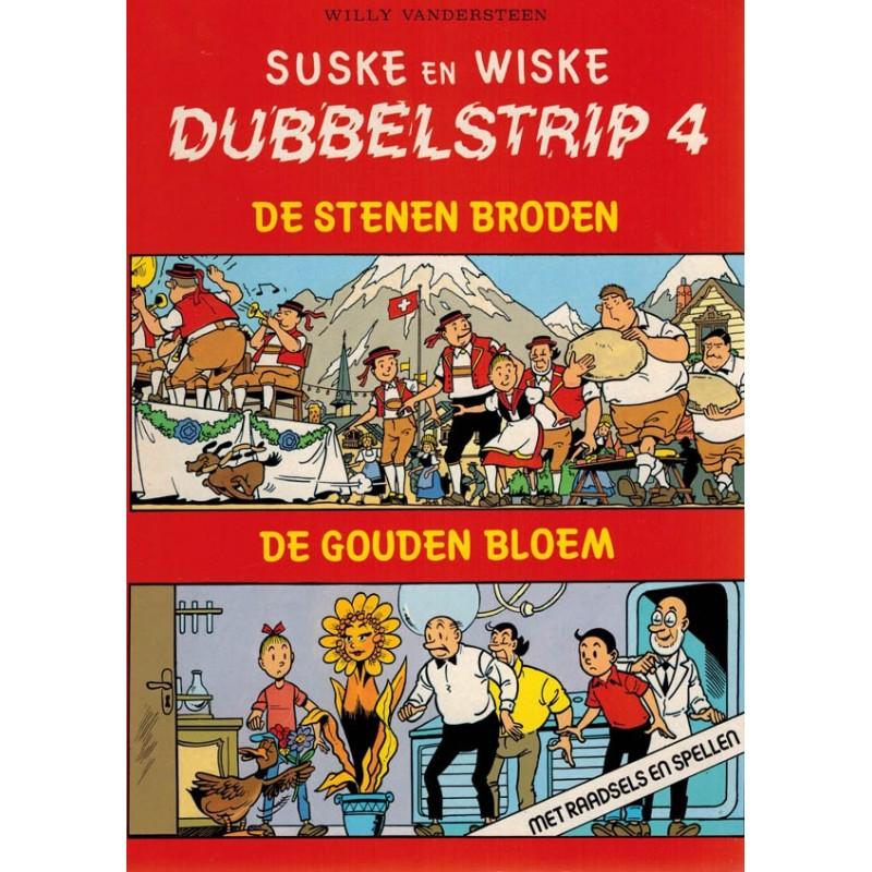 Suske & Wiske reclamealbum Dubbelstrip 04 (88) De stenen broden + Gouden bloem 88 pagina's 1e druk 1989