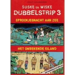 Suske & Wiske reclamealbum Dubbelstrip 03 (88) Sprookjesnacht aan zee + Het onbekende eiland 88 pagina's 1e druk 1989