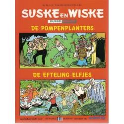 Suske & Wiske reclamealbum Dubbelnummer Pompenplanters + Efteling-elfjes 1e druk 1999 (Van Winkel fashions)