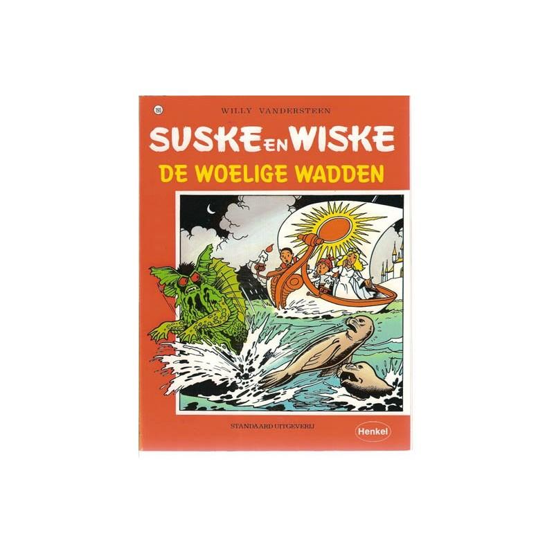 Suske & Wiske reclamealbum Woelige wadden 190 1e druk 1995 (Henkel)