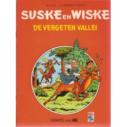 Suske & Wiske reclamealbum Vergeten vallei 1e druk 1981 (Ariel)