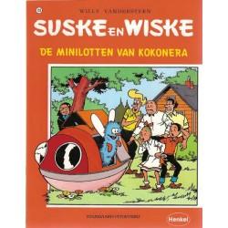 Suske & Wiske reclamealbum Minilotten van Kokonera 159 1e druk 1995 (Henkel)