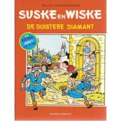Suske & Wiske reclamealbum Duistere diamant met 16 extra pagina's over de film 1e druk 2004