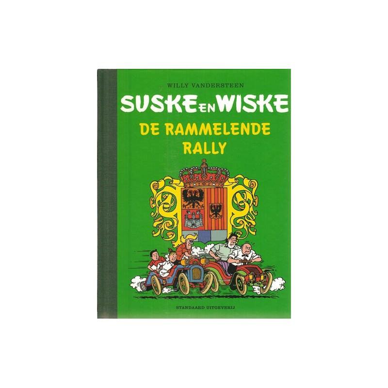 Suske & Wiske Luxe HC Rammelende Rally + softcover in kleur 1e druk 2002 (Brabants Stripspektakel) set