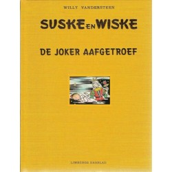 Suske & Wiske Luxe HC De Joker aafgetroef Limburgs 1e druk 1999