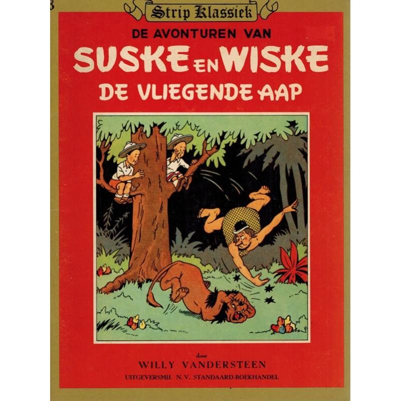 Suske & Wiske reclamealbum Klassiek 03 Suske & Wiske De vliegende aap 1e druk 1981 (Hoogvliet)