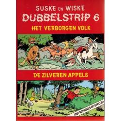 Suske & Wiske reclamealbum Dubbelstrip 06 (80) Het verborgen volk + De zilveren appels 80 pagina's herdruk