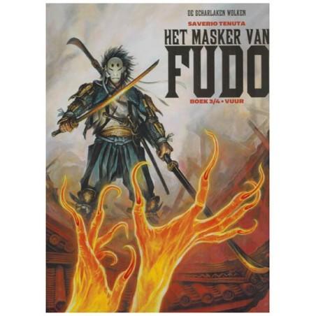 Legende van de Scharlaken wolken Het masker van Fudo 03 Vuur HC