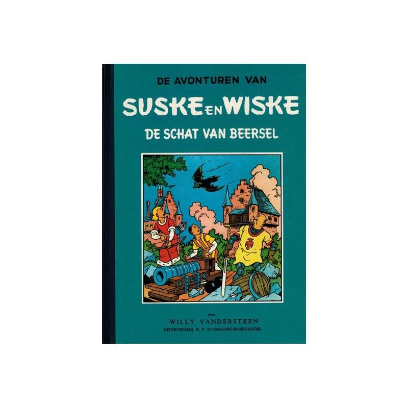 Suske & Wiske blauwe reeks 04 HC De schat van Beersel 1e druk 1983