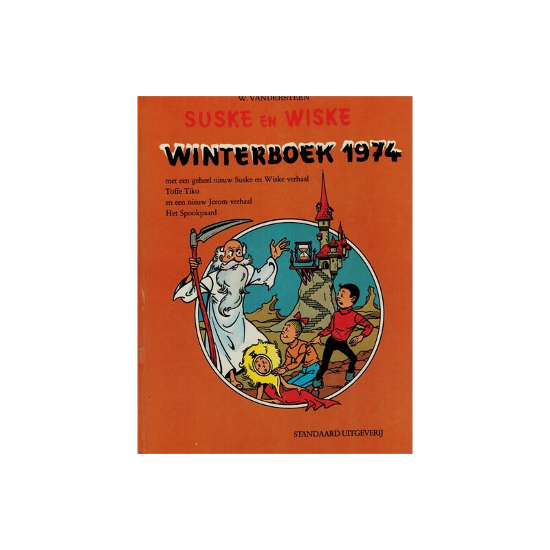 Suske & Wiske reclamealbum Winterboek 02 HC 1e druk 1974